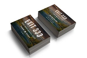 Logo and business cards for property development business